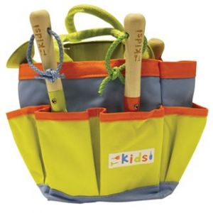 Kids tool tas incl 3 tools en gietertje