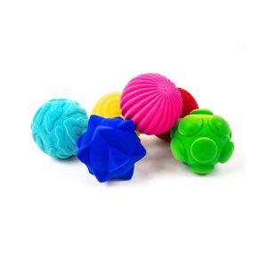 Rubbabu set van 6 tactiele ballen