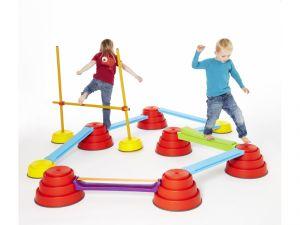 Constructie Build 'N Balance set 18-delig