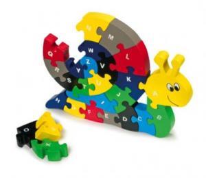 """ABC puzzel """"Slak"""""""