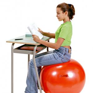 Sit 'n Gym Zitbal rood 55cm